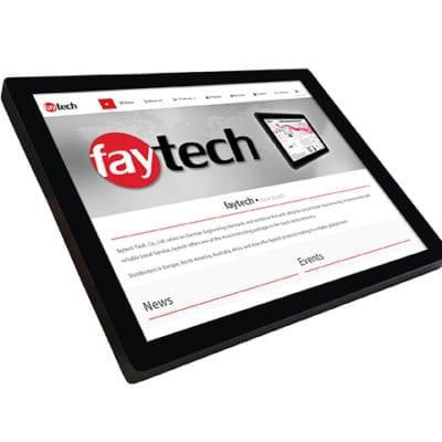 "15"" IP65 High Brightness Touch PC - Capacitive"