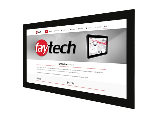 faytech's Competitor Comparison for Capacitive Open Frame Monitors