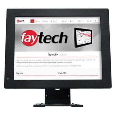 "15"" Touch PC - J1900 Configuration"