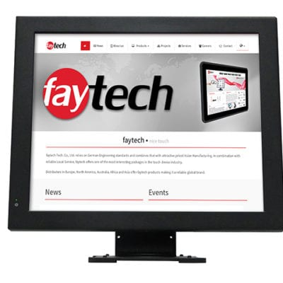"17"" Touch PC - J1900 Configuration"