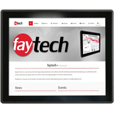 """19"""" Embedded Touch PC - V40 Configuration"""