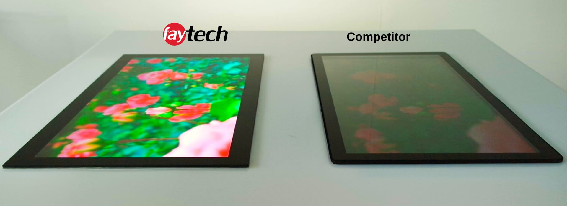 faytech North America Comparison of the Open Frame Touch Monitor
