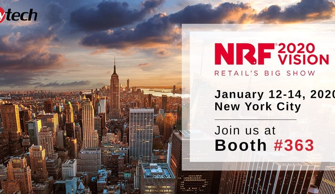 faytech North America will be at NRF 2020 in New York City